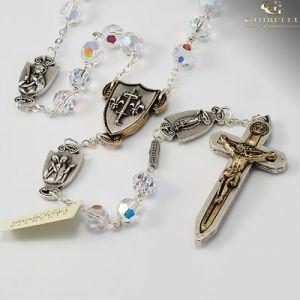 7mm Swarovski Warrior Rosary