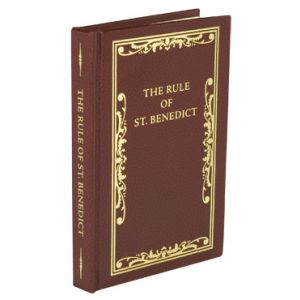 The Rule of St. Benedict- Hardcover Pocket Size
