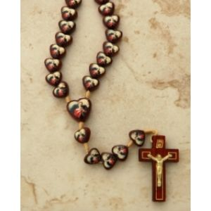 Our Lady Undoer of Knots Heart Rosary