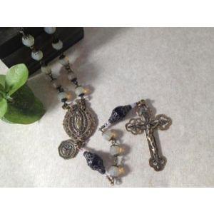 Opalite Bronzed Rosary