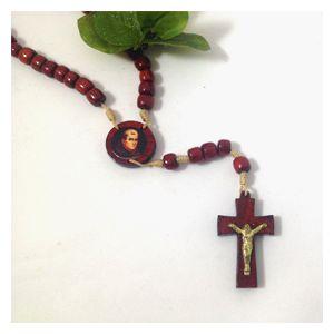 St. Junipero Serra Wooden Rosary