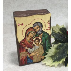 ACM2 Holy Family Greek Icon