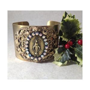 Miraculous Crystals Cuff Bracelet