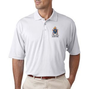 Papal Crest Embroidered Polo