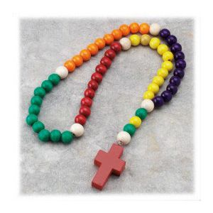 Wooden Family Rosary