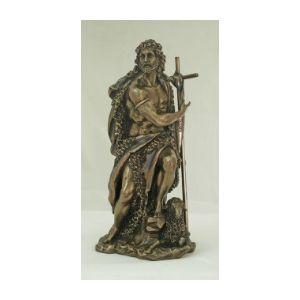 """Bronze St. John the Baptist 10"""""""