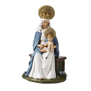 Madonna & Child Seated 6""