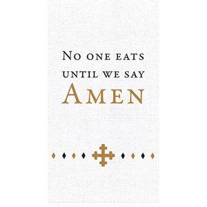 Amen Tea Towel