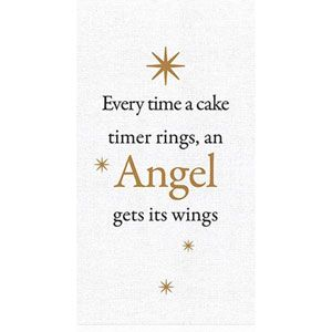 ACM105 Angel Tea Towel