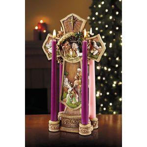 "Nativity Cross Advent 13"""