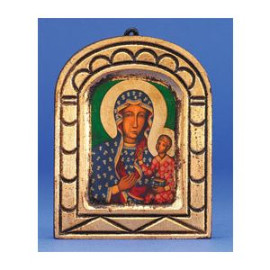 Our Lady of Czetchowa Dome Icon 5x4