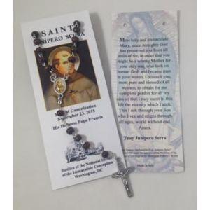 Saint Junipero Serra Rosary English