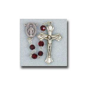 Birthstone Crystal Rosary