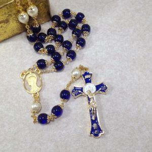ACM61 Holy Mass Blue Rosary