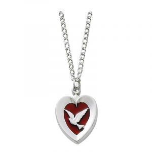 "Holy Spirit Necklace 18"""