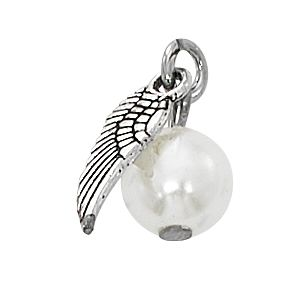 Pearl Wing Charm