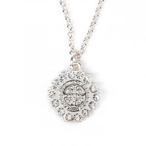 Brilliance Crystal Necklace (Silver)