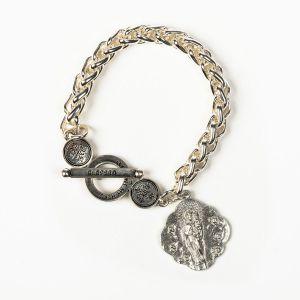 Queen of Heaven Silver Bracelet