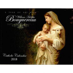 Bouguereau 2018 Catholic Wall Calendar