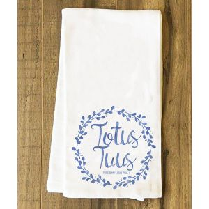 """Totus Tuus"" Tea Towel"