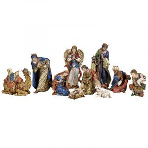 ACM15 10 Piece Nativity Set