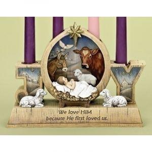 Joy Advent Wreath