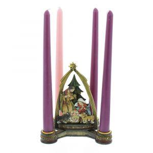 Holy Family Small Advent Wreath