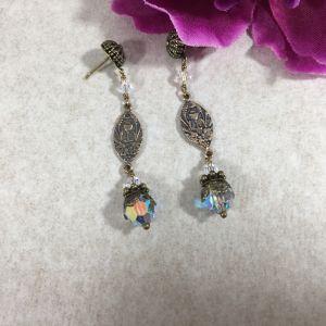 Swarovski Earrings of the Holy Eucharist