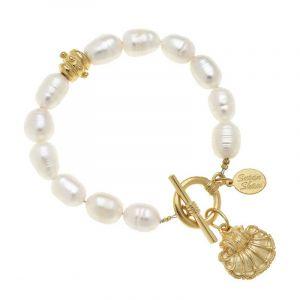 Shell Pearl Bracelets