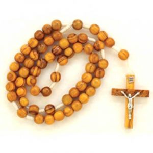 Olive Wood Rosary Crucifix