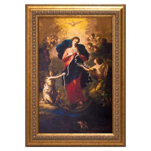 Our Lady Undoer of Knots 10x16 Canvas