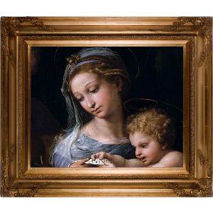 Madonna of Rose 16x20 Canvas