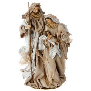 Fabric Holy Family 18""