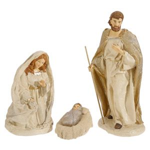 3 pc Holy Family 12""