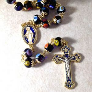 ACM20 Murano Glass Rosary