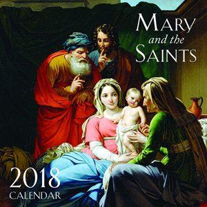 ACM31 2018 Mary and the Saints Wall Calendar