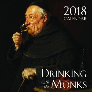 2018 Drinking Monks Wall Calendar