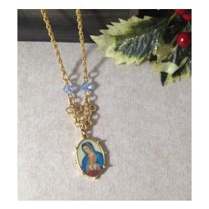 Vatican Our Lady Guadalupe Necklace
