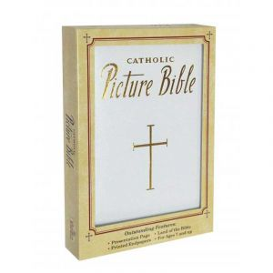 Catholic Picture Bible White