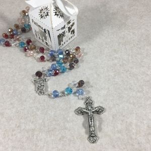 Our Lady of Fatima Rosary in Gift Box