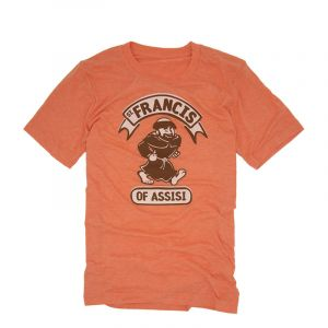 St Francis of Assisi Orange T-Shirt