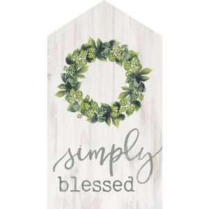 Grateful and Blessed House 3x6