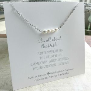 Freshwater Pearl All about the Dash Necklace