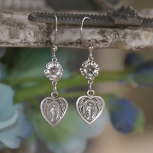 Miraculous Heart Earrings