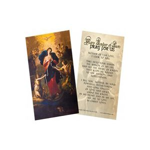 Undoer of Knots Prayer Card
