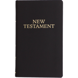 Pocket RSV New Testament - Simulated Leather Black