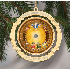 Commemorative Trinity Dome Ornament