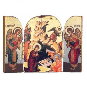Greek Nativity Triptych
