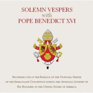 Solemn Vespers with Pope Benedict XVI