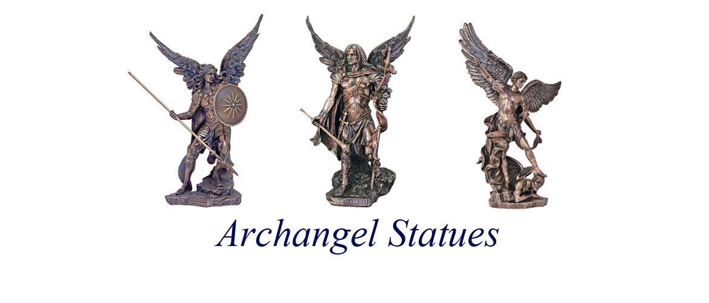 Archangel Statues Banner